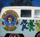The Bus to Never Ever Land / I got on the bus of the Grateful Dead April 17, 1971. Took a few rest stops when the scene turned bad, but never ever really left. I am Grateful to be a Deadhead for life.