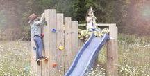 SKWURL kinderbedden op te gekke locaties / Waar wil jij wakker worden? SKWURL Nutty Originals steigerhouten kinderbedden