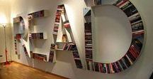 Bookish Places / Libraries, bookshops, book nooks, reading rooms, bookshelves, book lovers