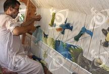 Mahrous Abdou / Mahrous Abdou tapestries from Ramses Wissa Wassef Art Centre