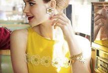 Yellow / Yellow Diamonds