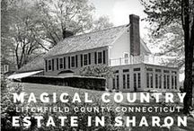 Sharon Connecticut Homes / Specializing in Beautiful Real Estate, Homes, Land, Farms, and Estates in Northwest Connecticut. Sharon CT is village in Litchfield County and is home to some of the areas most exquisite properties.