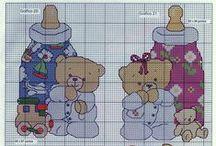 Cross Stitch Baby / by Wiranda Brandt