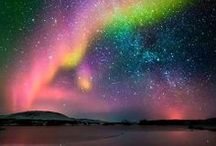 Northern Lights. / Auroras boreales.