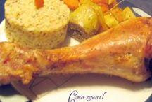 Recetas de carne Recipes of meat