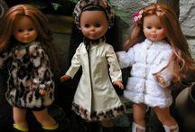 Mariquita Pérez (mi muñeca ), Nancy (la de mi hija) y Monsters High (la de mi nieta).