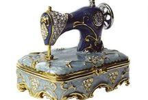 Máquinas escribir y coser