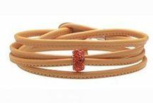 Colour Your Mood: Orange / Un mondo di colori che descrivono ciò che sei, i tuoi modi di essere,una collezione di bracciali componibili, un gioiello per comunicare il tuo umore. Arancione = Diavoletto