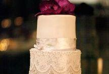 Cake Walk / Inspired wedding cakes #bride #bridal #cake #wedding