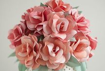 Paper flowers / Paper flowers, DIY, inspiration
