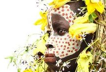 African face art
