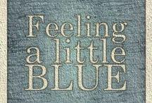 Blå toner...