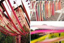 Pinksterfeesten Bornerbroek / Aankleding terrein/tent