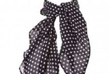 Accessories / Vintage style bags, hosiery and scarves
