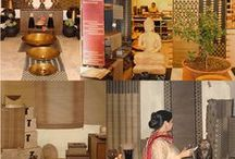 Exhibitions / Exhibitions showcasing natural fibre home decor products by GreenEarth