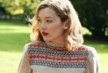 Vintage Knits / Vintage and retro knitwear
