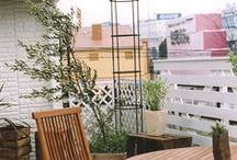 Roof garden (My works) / I design, it is a site that was constructed. 私がデザイン、施工した現場です。