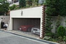 Parking  (My works) / I design, it is a site that was constructed. 私がデザイン、施工した現場です。
