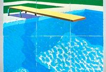 #POOLS / #PISCINAS / Ilustraciones, fotografías, pinturas, collages de #piscinas. #Nadadores y #nadadoras, #trampolines. Y mucha #agua. Ilustrations, photographs, drawings and #pool collages. #Swimmers and #trampolines. And the most important...lots of #water.