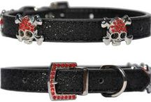 """DH Couture Collars / The Doggie Hillfigher couture collar range is the foundation of our brand and exemplifies our commitment to """"Put the Dog in Catwalk"""" by providing our clients with high quality affordable yet distinguishable couture."""