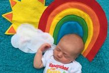 Rainbow baby Hope after infant loss with rainbow babies / Hope after baby loss with RAINBOW BABIES .a rainbow baby is a mother who has gone on to have a live baby after a stillbirth baby loss or miscarriage