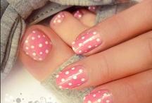 Nails / All sorts of nail polishes and nail art designs