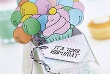Birthday Papercrafting / Nothing says 'Happy birthday' like a home-made card or fun party décor