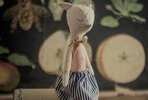 Handmade dolls by Pani Pieska / Things by Pani Pieska