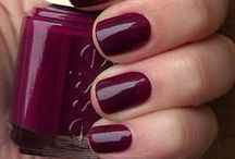 Nail Colour / A selection of nail colours we love