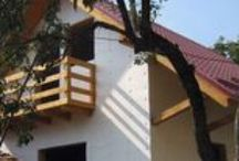Case din lemn cu mansarda / Modele de case din lemn cu mansarda - Catalog de case din lemn cu mansarda si proiecte case de lemn parter si mansarda, constructii pe structura de lemn cu regim de inaltime P+M executate de firma BARAT System Harghita