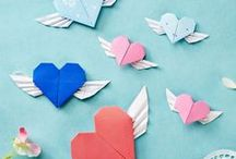 Valentine's Day Papercrafts / We've come over all lovey-dovey and scoured Pinterest for the sweetest paper crafts! Inject a touch of romance into your home and spoil our loved ones with these inspiring ideas..