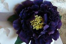 sugarpaste flowers / les plus belles fleurs en pas