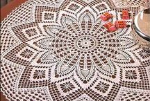 Doilies and Furniture Scarves / patterns for crochet doilies / by Pansy