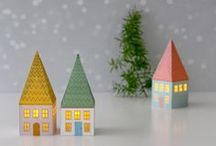 Winter Papercrafts / Chill in the air? It's time for wintry cards and papercrafts!
