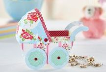 New Baby Papercrafting / Crafty cards and makes for new arrivals