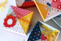 Gift Box Making / Make your own boxes from paper or card