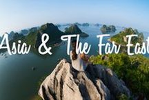 Asia & The Far east / Beautiful #DestinationInspiration from Asia and The Far East