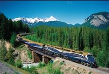 Rocky Mountaineer / Share in the fantastic Rocky Mountaineer train journey with this compilation of picturesque scenery & rail journeys