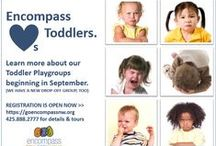 All About Toddlers / Toddlers are adorable and adventurous—and often completely unpredictable! Our resident toddler experts, Nikki Slaght and Kerry Beymer (local moms just like you), tackle your questions about how to mediate toddler tantrums and provide some guidance for enjoying the toddler stage. Learn more about the education and pediatric therapy programs Encompass offers: www.EncompassNW.org