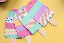 Summer Papercrafts / Craft ideas for the summer season!