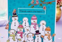 Christmas Cardmaking / Lovely ideas for Christmas cards you can make yourself!