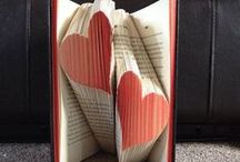 Book Art / The beautiful art of book folding