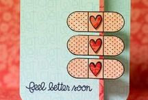 Get Well Soon Cardmaking / Fab card ideas for someone who's feeling under the weather