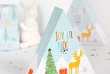 Free Christmas Craft Downloads / Free papers and motifs to download for your Christmas crafting