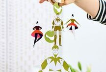 Paper Mobiles / Gorgeous paper mobiles you'll want to make straight away!