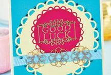 Good Luck Cardmaking / Wish someone good luck with one of our handcrafted greetings!