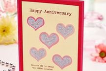 Anniversary Cardmaking / Wish someone a Happy Anniversary with one of our cards