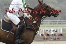 Polo Party ideas for Chukkar Farm Polo Club