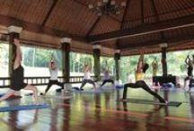 Bali 'Joyful Spirit' Yoga Retreat / Bali Yoga Retreats with Sue Hawkins and facilitators.