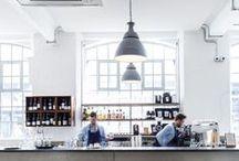 Coffee shops & Restaurants / London and Singapore